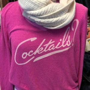 "WILDFOX ""cocktails"" sweater"